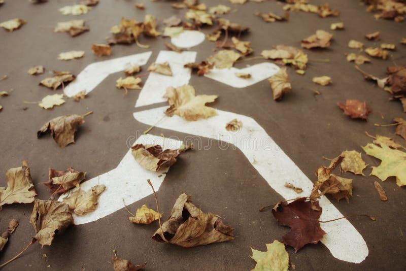 Autumn Leaves Background imagenes de archivo