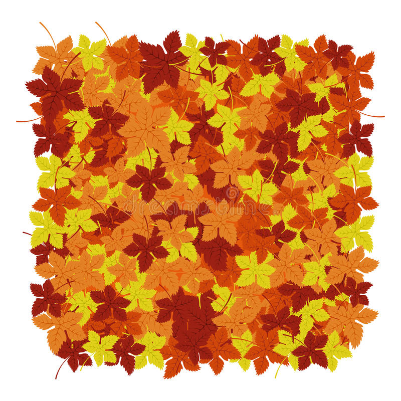 Autumn leaves background. Vector illustration. Floral abstract pattern. Fashion Graphic Design. Symbol of autumn,eco and. Natural.Bright colors leaves. Template vector illustration