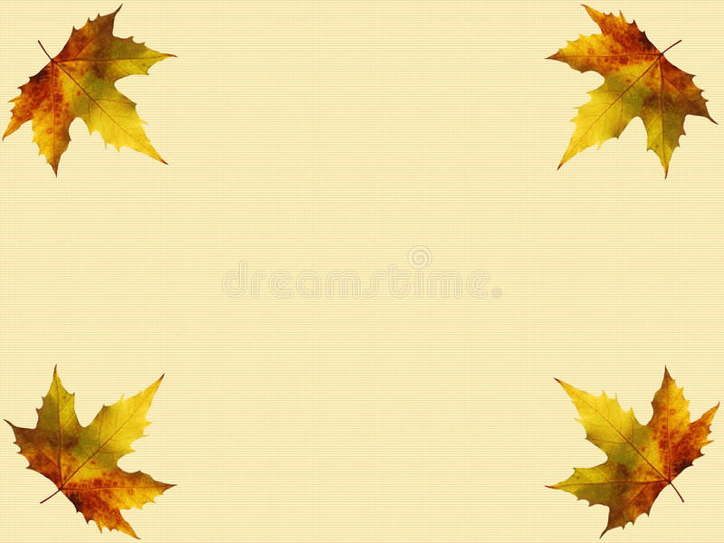 Download Autumn Leaves Border Royalty Free Stock Photos - Image: 22269498