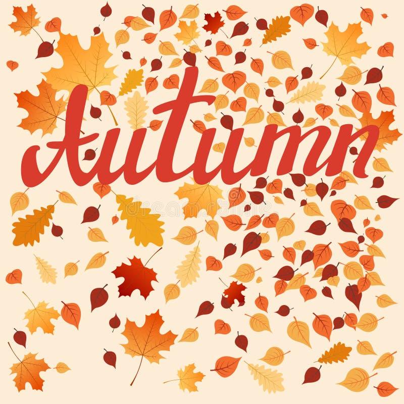 Autumn Leaves stock illustratie