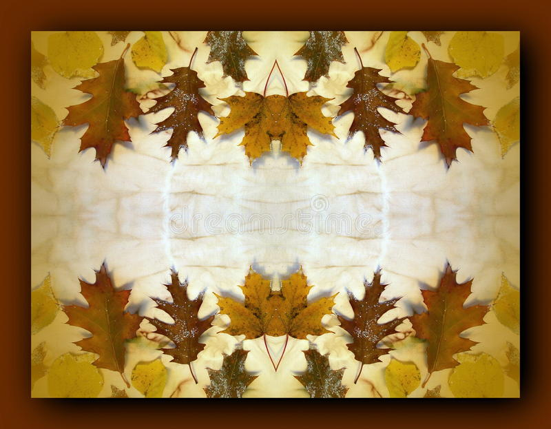 Download Autumn Leaves Frame Stock Photo - Image: 41282117