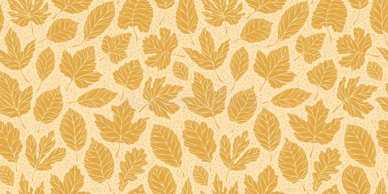 Autumn leaves seamless background. Leaf fall concept. Vector. Autumn leaves seamless background. Leaf fall concept vector illustration