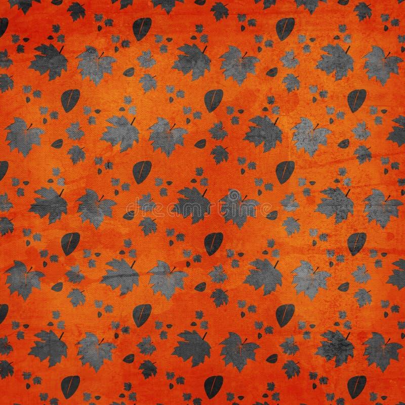 Autumn Leaves Texture Background stock photo