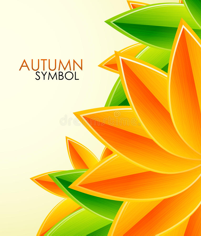 Download Autumn Leaves Vector Background Stock Vector - Image: 25268487