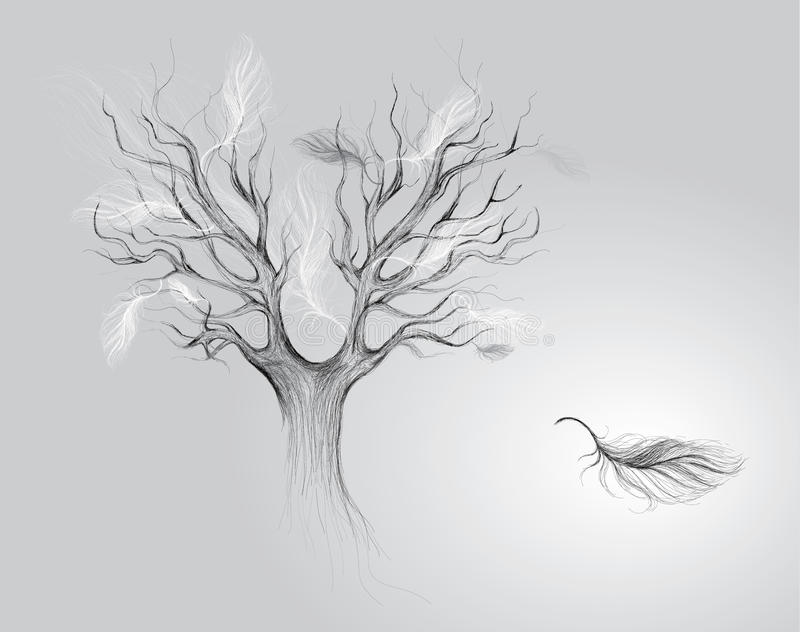 Download Autumn of life stock vector. Image of gray, free, elegant - 26605474