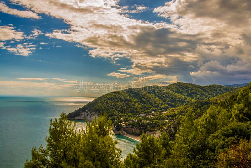 Autumn light in Puglia royalty free stock photos