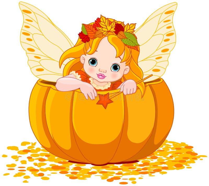 Autumn Little Fairy vector illustratie
