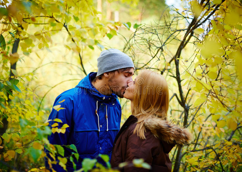 Autumn Love royalty-vrije stock fotografie