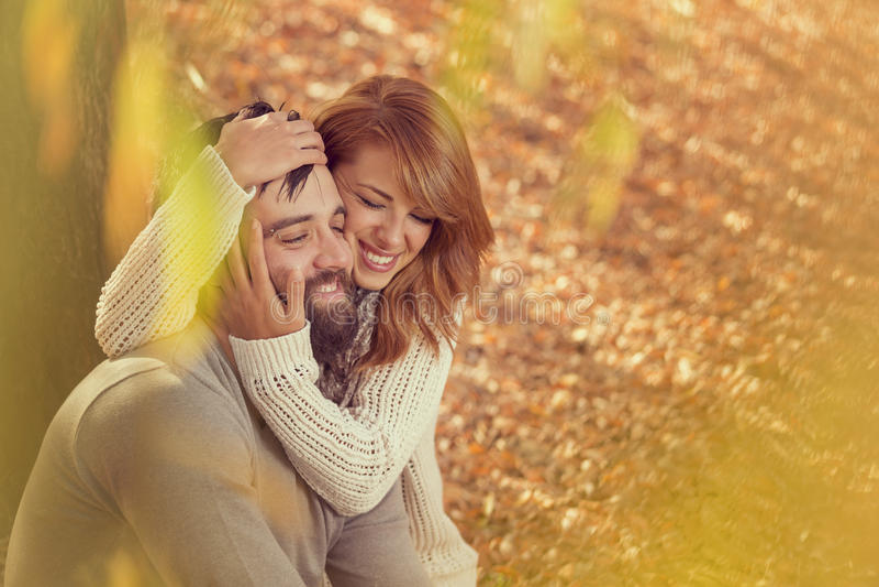 Autumn Love image stock