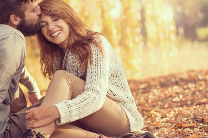 Autumn Love lizenzfreies stockbild