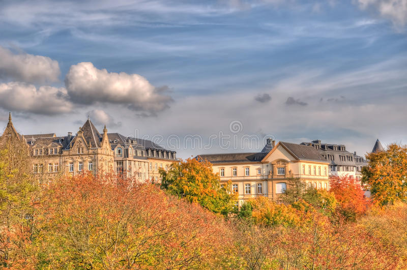 Download Autumn Luxembourg stock image. Image of foliage, nature - 16636183