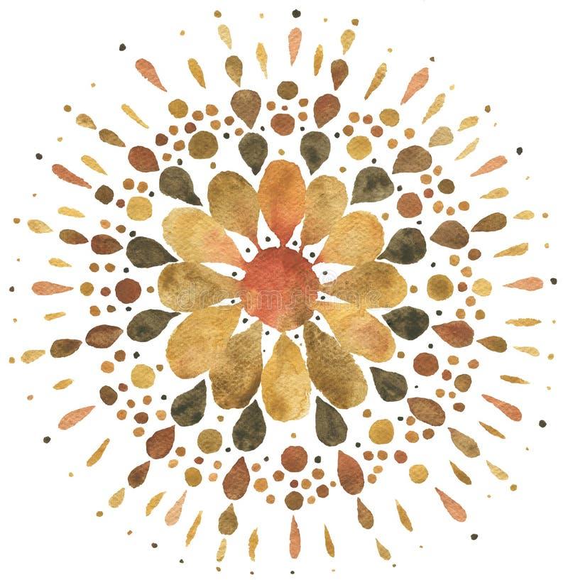 Free Autumn Mandala Illustration Stock Photography - 162594662