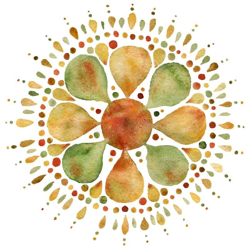 Free Autumn Mandala Illustration Stock Photo - 162594740