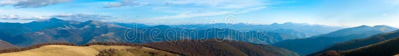 Download Autumn Misty Mountain Panorama Stock Image - Image: 24396147