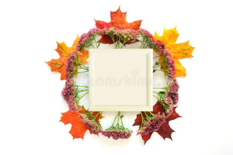 Autumn Mock Up imágenes de archivo libres de regalías
