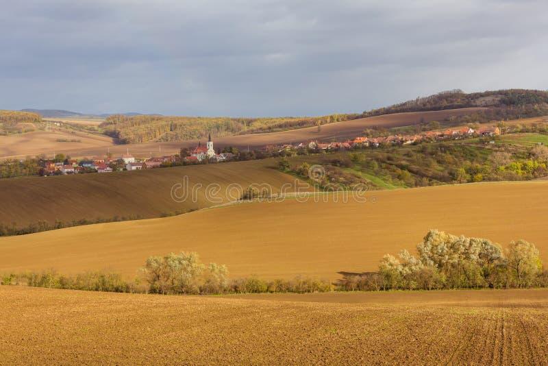 Autumn in Moravia. Czech Republic royalty free stock photo