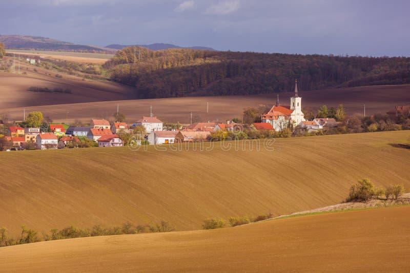 Autumn in Moravia. Czech Republic royalty free stock photos