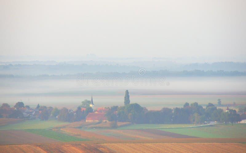 Autumn Morning flou, Slovénie photo libre de droits