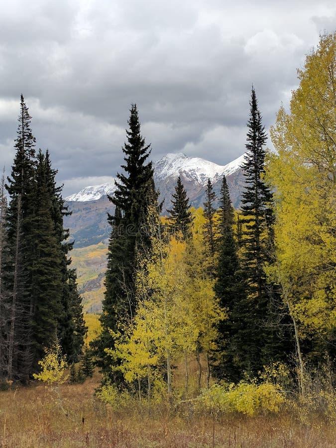 Autumn Mountain stock image
