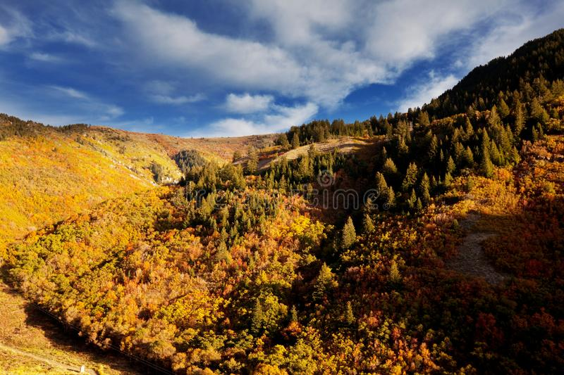 Autumn Mountains fotografia stock libera da diritti