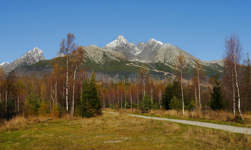 Download Autumn mountains stock image. Image of footpath, area - 46261099