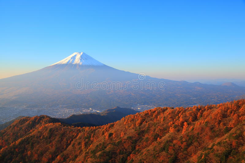 Autumn Mt. Fuji stockfotografie