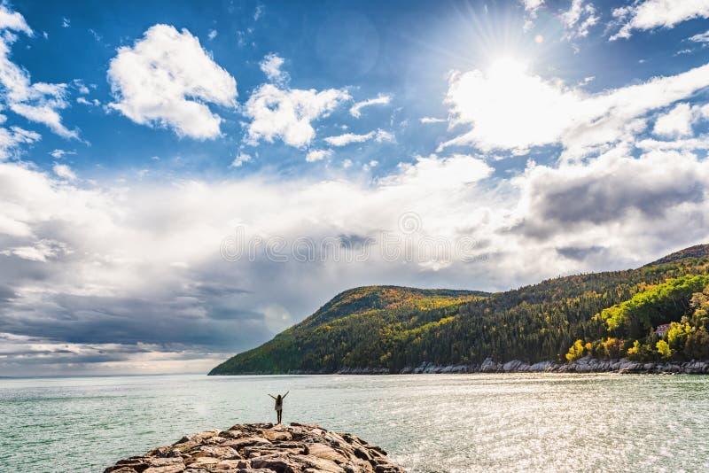 Autumn nature background canadian landscape royalty free stock images