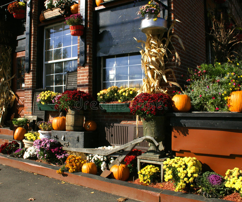 Autumn in New England royalty free stock photography