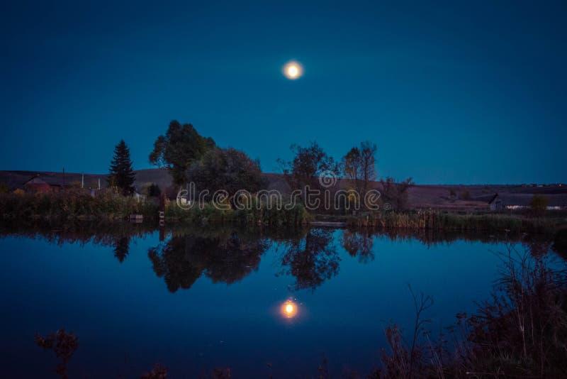 Autumn Night stock photography