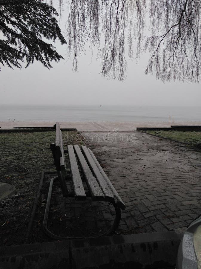 Autumn Ohrid foto de stock royalty free