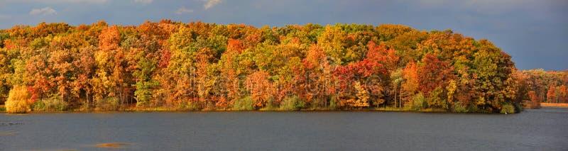 Autumn Panorama foto de archivo