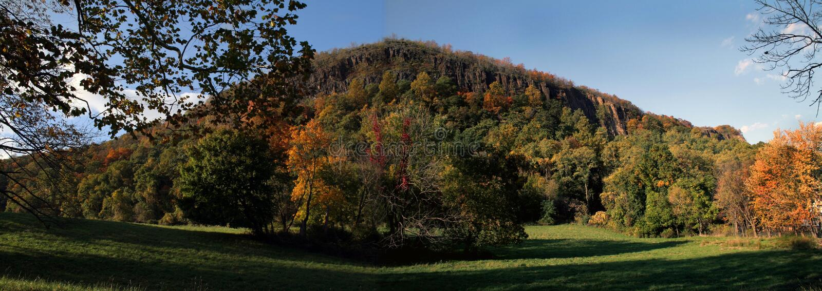 Download Autumn Panoramic stock image. Image of trees, rural, valley - 1401039