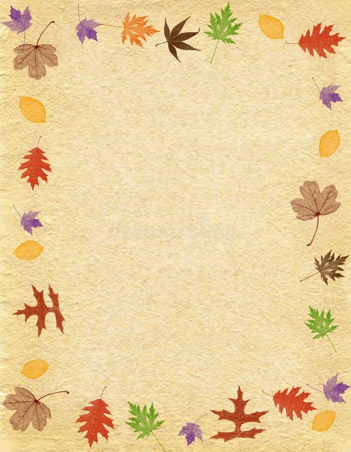 Autumn Paper illustration de vecteur