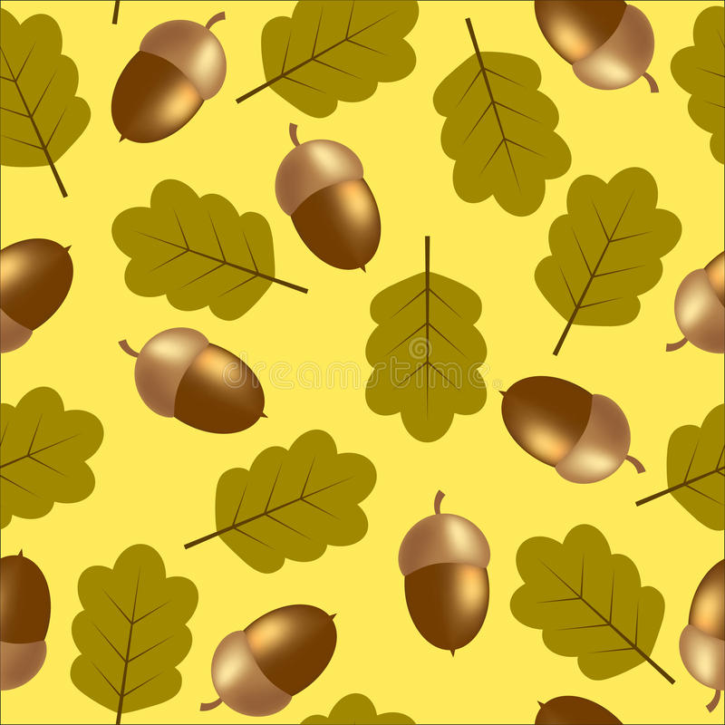 Autumn Pattern vector illustratie