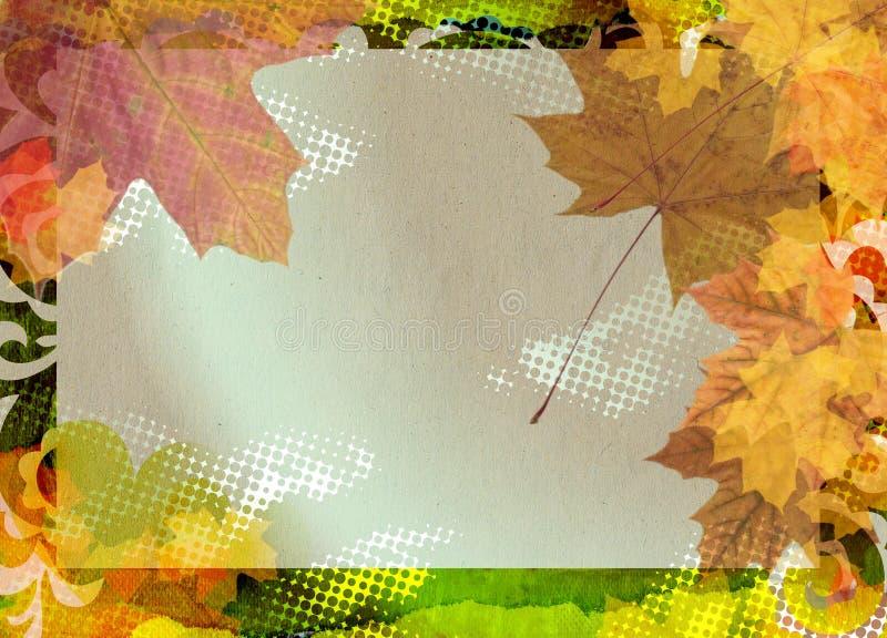 Autumn Photo Frame Royalty Free Stock Images