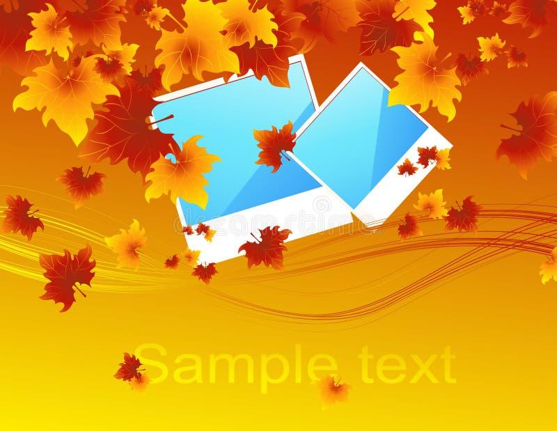 Autumn_photos royalty free illustration