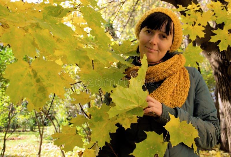 Autumn Portrait image stock