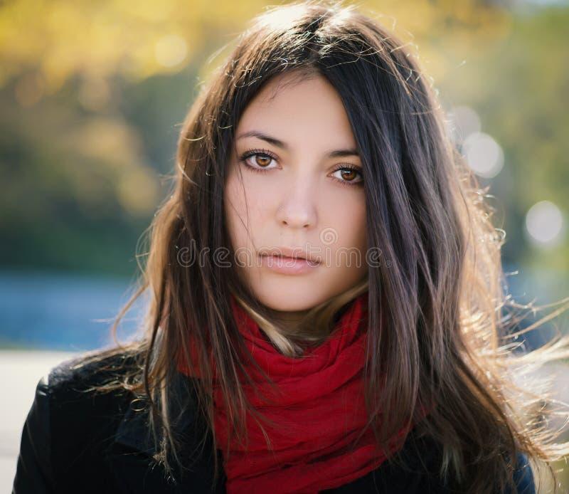 Autumn Portrait stock foto