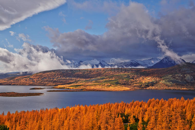 Download Autumn. After A Rain. Jack Londons Lake Stock Photo - Image of mountains, jack: 62313112
