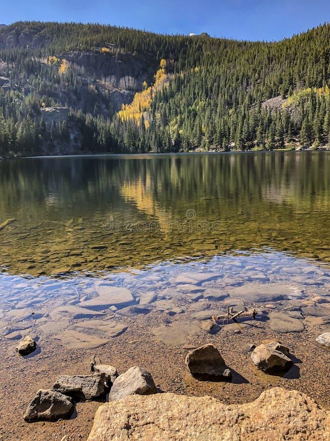 Autumn Reflection arkivfoto