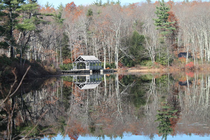 Autumn Reflection lizenzfreies stockfoto