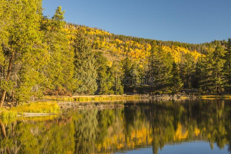 Autumn Reflection immagini stock libere da diritti