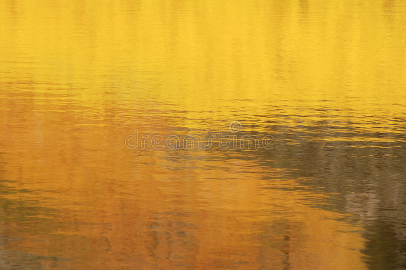 Autumn Reflections royalty free stock photos