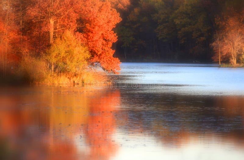 Autumn Reflections foto de archivo libre de regalías