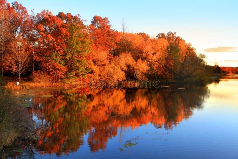 Autumn Reflections imágenes de archivo libres de regalías