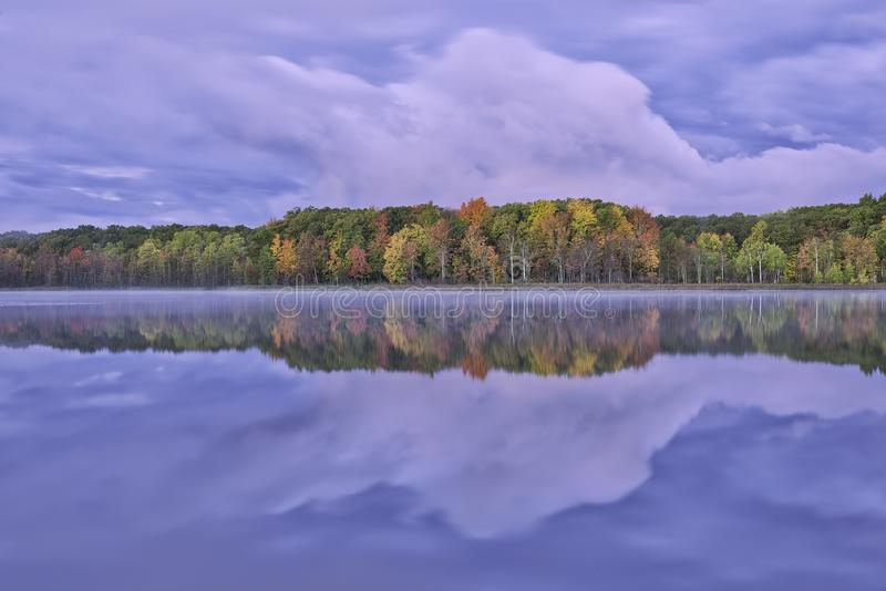 Autumn Reflections Long Lake royalty free stock images