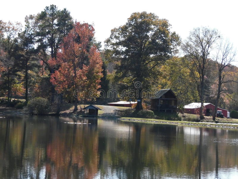 Autumn Retreat stockbilder