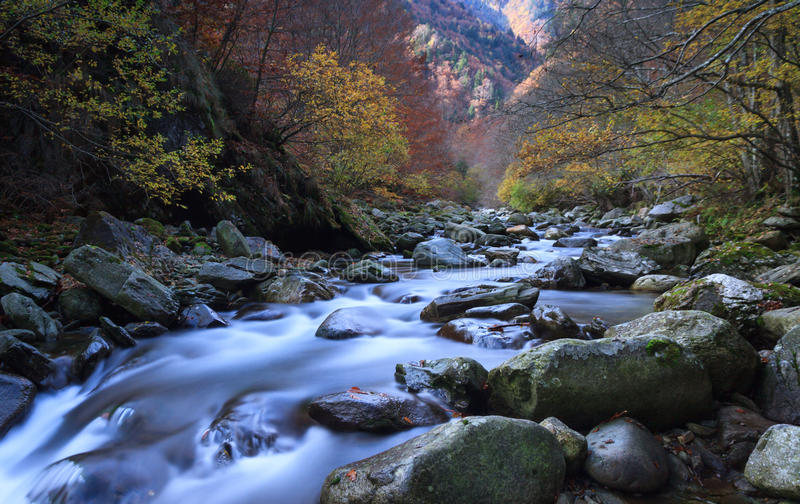 Download Autumn river stock photo. Image of alps, cold, river - 36491212
