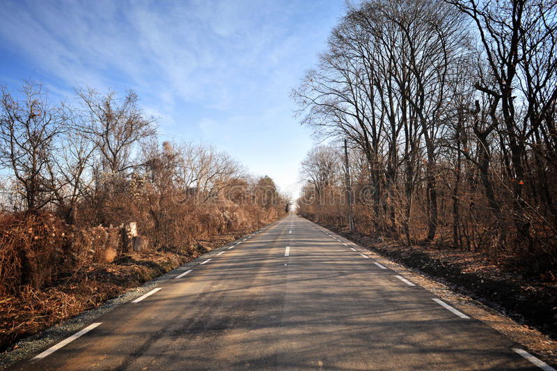 Download Autumn road stock image. Image of highway, scenery, colour - 22860841