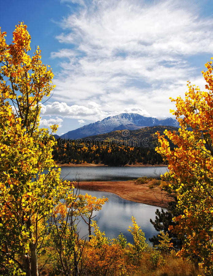 Download Autumn Rocky Mountain Landscape Royalty Free Stock Images - Image: 22320409